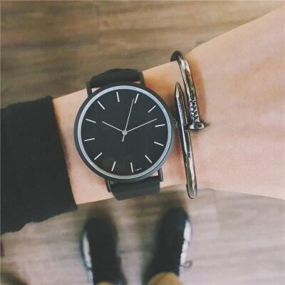 Di modo Del Cuoio Del Faux Mens Analogico Quarti Orologi Blu Ray Orologio Da Polso Da Uomo 2018 Mens Orologi Top Brand di Lusso Casual Orologio orologio
