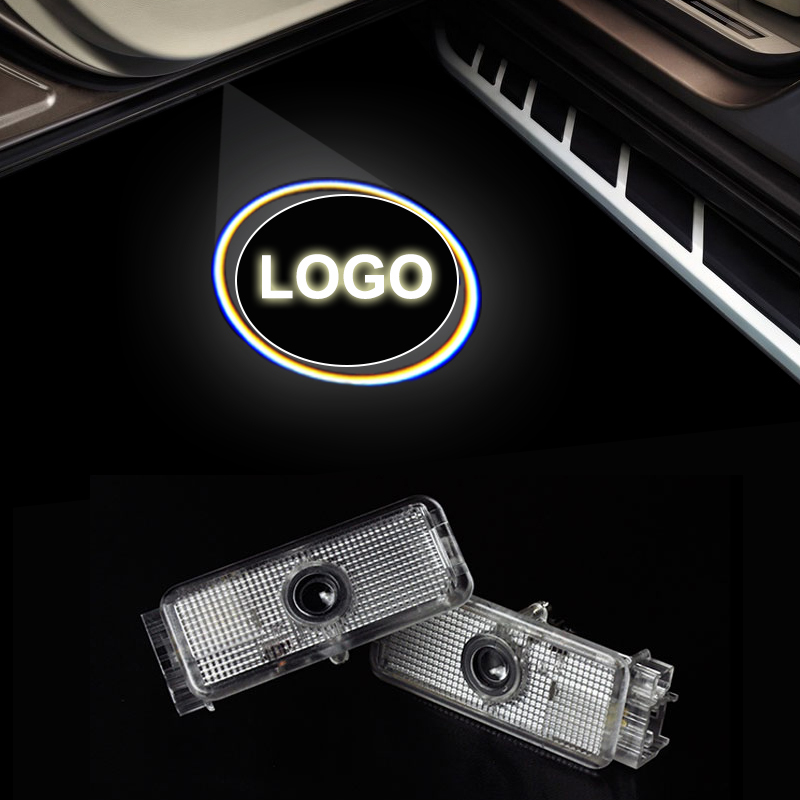 New Car Styling LED Welcome Logo Door Laser Shoot Light lamp For Peugeot 408 508 RCZ 206 207 306 307 406 5008 607 806 807