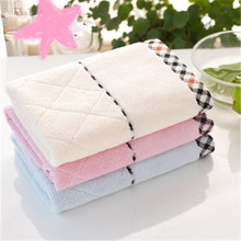 SBB Whole cotton face Towel wholesale  32 strands of super absorbent towel soft Twistless yarn facecloth Wholesale gift