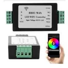 Светодиодные ленты свет лампы H801 Wi-Fi Управление Лер телефона Android WLAN Управление маршрутизатор Новый