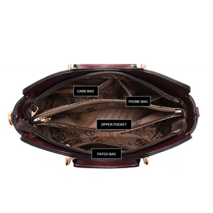 Image 4 - Luxury Handbags Women Bags Designer Shoulder Bag Crossbody Fashion Female Bags Ladies Handbag Leather Waterproof Messenger Bag