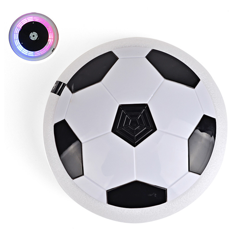 Fashion Children Toys Suspension Football LED Electric Air Cushion Soccer Pneumatic Disk For Kids Boy Latest Indoor Game FJ88