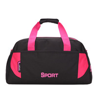 Waterproof Nylon Outdoor Sports Fitness Gym Bag Training Sports Bags Shoulder Handbag Women Fitness Travel Duffel