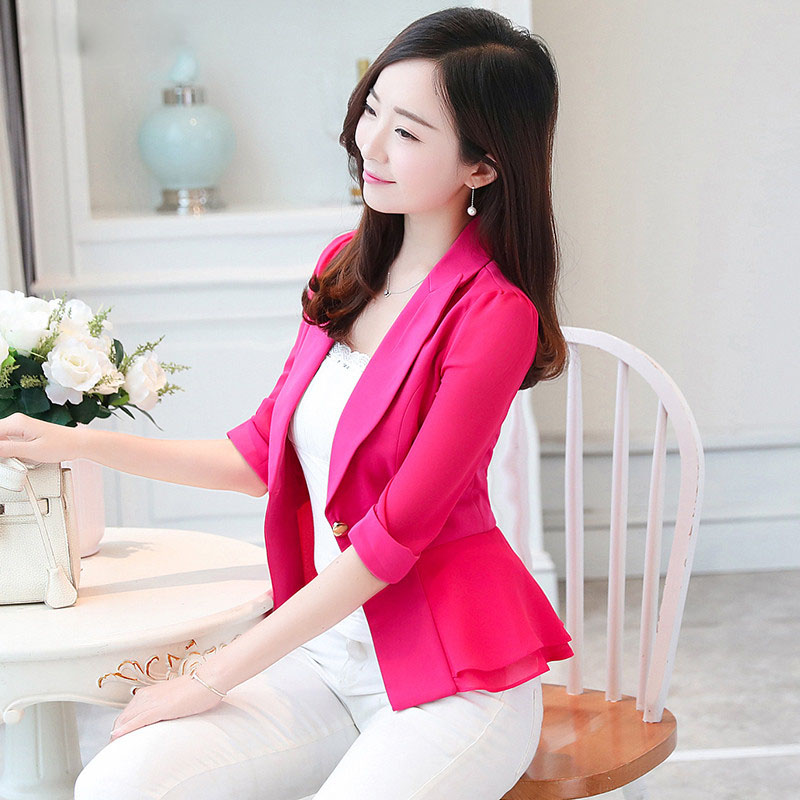 Elegant Female Summer Thin Suits Plus Size 3xl 4xl 4xl Women Office Blazer Blue Orange Slim Fit Breathable Blazer For Work Ma088 Latest Fashion Back To Search Resultswomen's Clothing Suits & Sets
