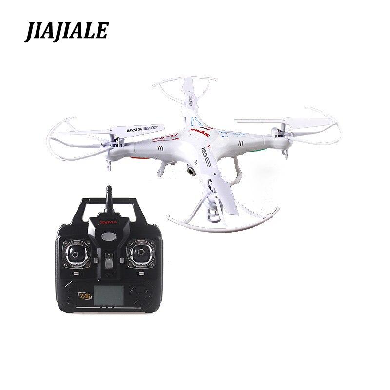 Envío libre 2,4g 4CH 6 eje Syma Original X5C quadcopter RC helicóptero drone con 2MP HD FPV Cámara RC toy VS x101 x5sw x5sc