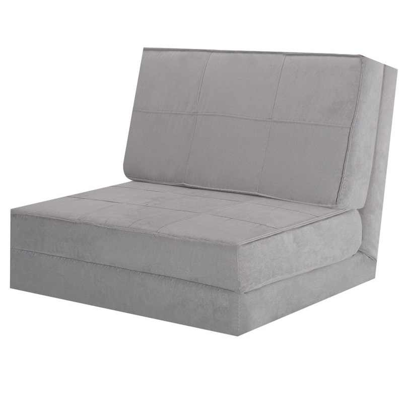 Folding Bed Couch With Folded Pillow