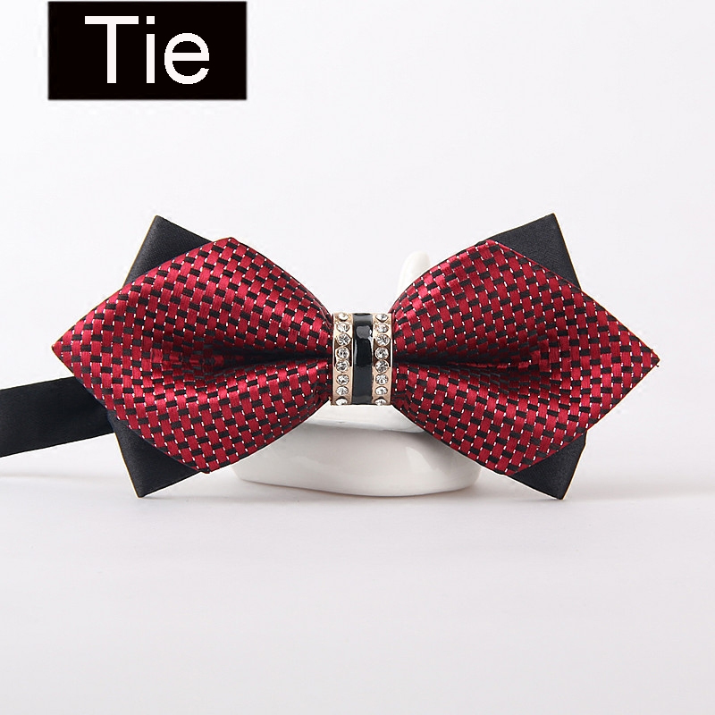 New Wedding bow tie print Bowtie gravata creative ties for men Shirt necktie multiuse party business cravate pour homme in Men 39 s Ties amp Handkerchiefs from Apparel Accessories