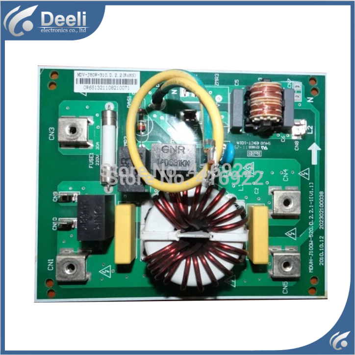 95% new good working for air conditioner computer board MDV-J80W-310 filter plate lightning protection board sale wire universal board computer board six lines 0040400256 0040400257 used disassemble