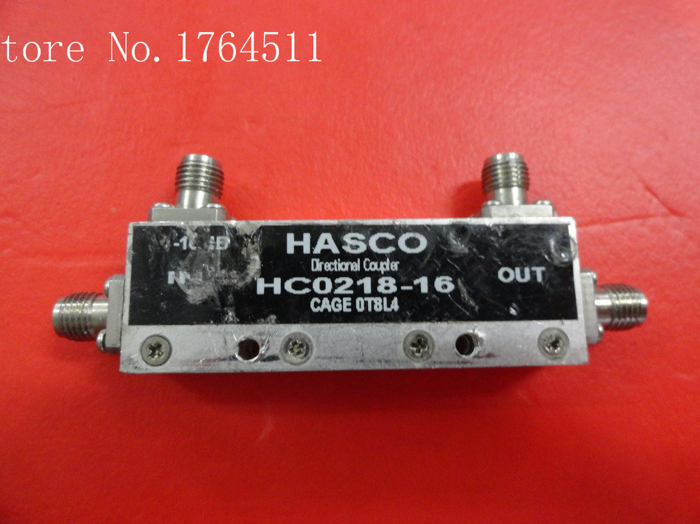 [BELLA] HASCO HC0218-16 2-18GHZ 16DB Directional Coupler
