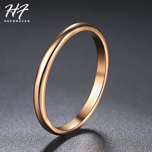 Retro Stainless Steel Rings For Women Men Titanium Ring Korean Style Dating Couple Rings Jewellry Simple Fashion Jewelry R830 4