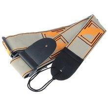 5X Adjustable Shoulder Strap Leather Guitar Strap