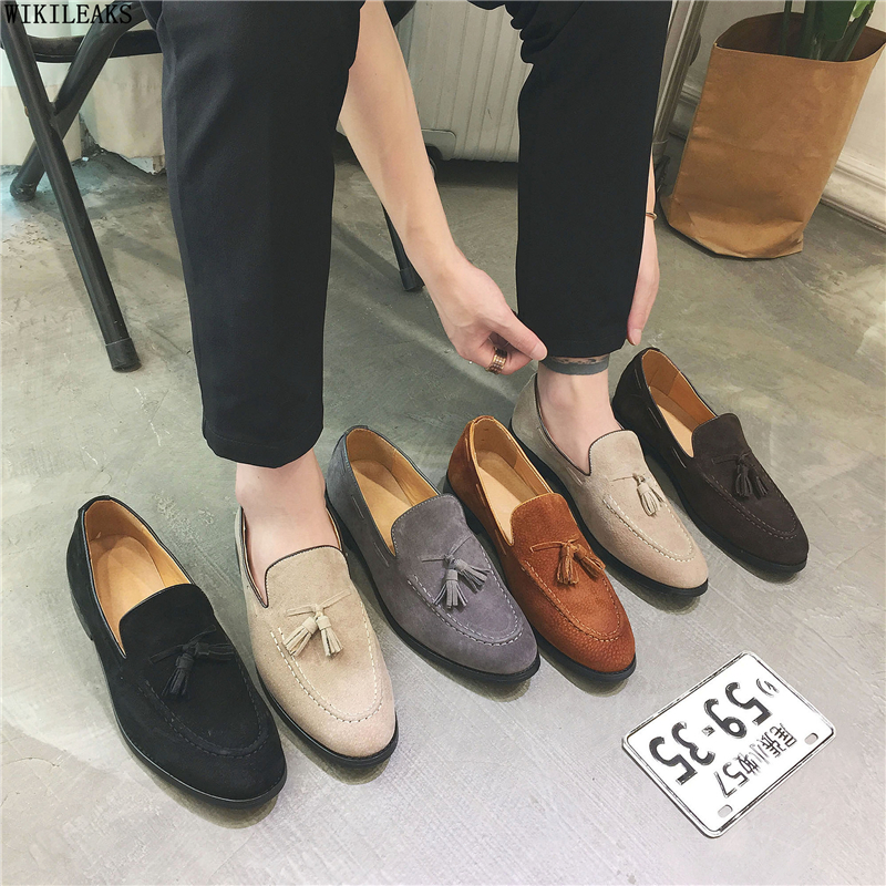 luxury men shoes formal wedding men shoes classic loafers men   leather   dress shoes sepatu slip on pria chaussures classique homme