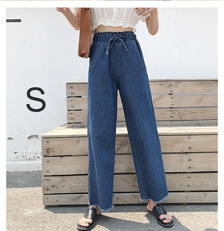 DN Vintage Mom Style Pencil   Jeans   High Quality Cowboy Denim Plus Size Push Up Trousers 2018 warm Pencil Pants Female 1C201-214