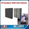 P6 из светодиодов модуль витрины стандарт водонепроницаемый SMD RGB полноцветный из светодиодов кабинет 768 * 768 мм открытый рекламных объявлениях вывеска