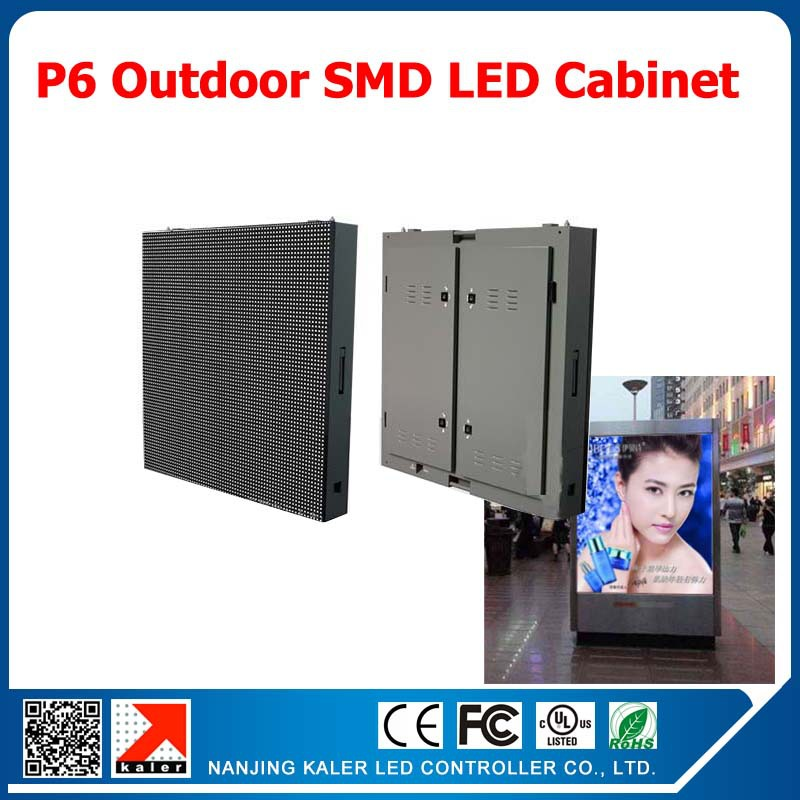 TEEHO P6 led module display cabinet standard waterproof full color led display cabinet 768*768mm outdoor advertsing signboardTEEHO P6 led module display cabinet standard waterproof full color led display cabinet 768*768mm outdoor advertsing signboard