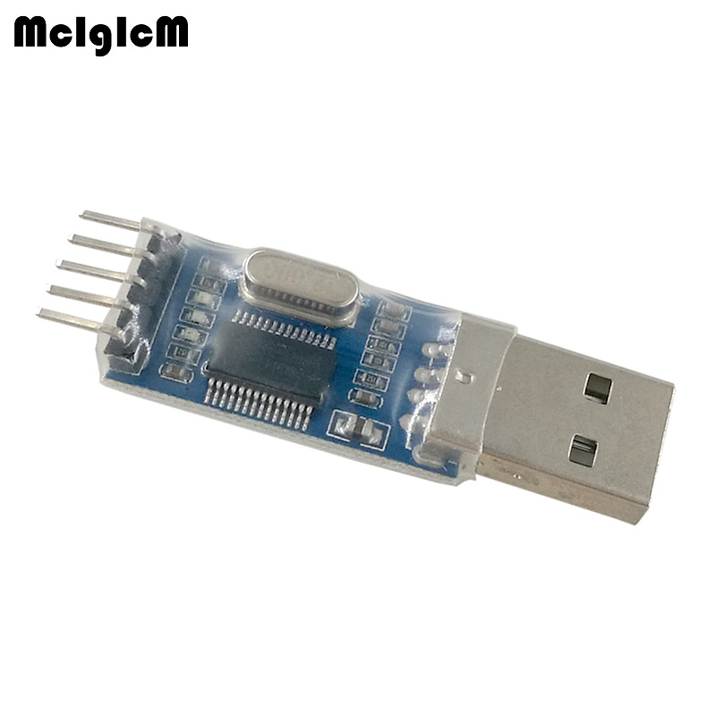 MCIGICM 200pcs PL2303 USB To RS232 TTL Converter Adapter Module For CAR Detection GPS