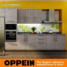 7 дней поставляем мебель для кухни аппаратного текстура древесины ламинаты OP14-K007