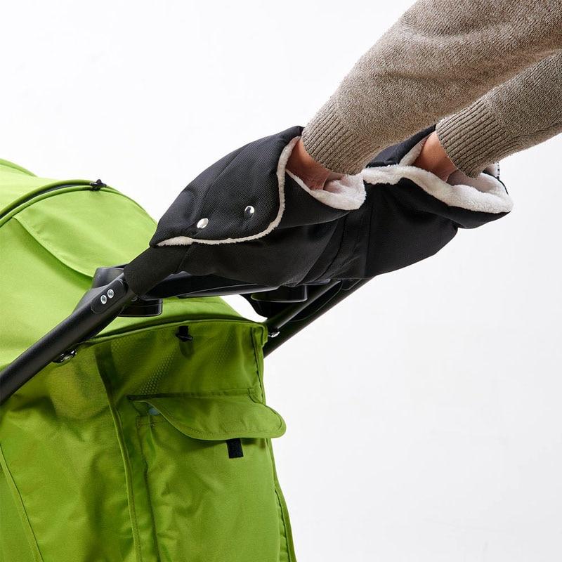 Barnvagn Varm Handskar, Vinter Vind, Kall- och Cashmere Handskar, Handvagn Handskar Barnvagn Tillbehör