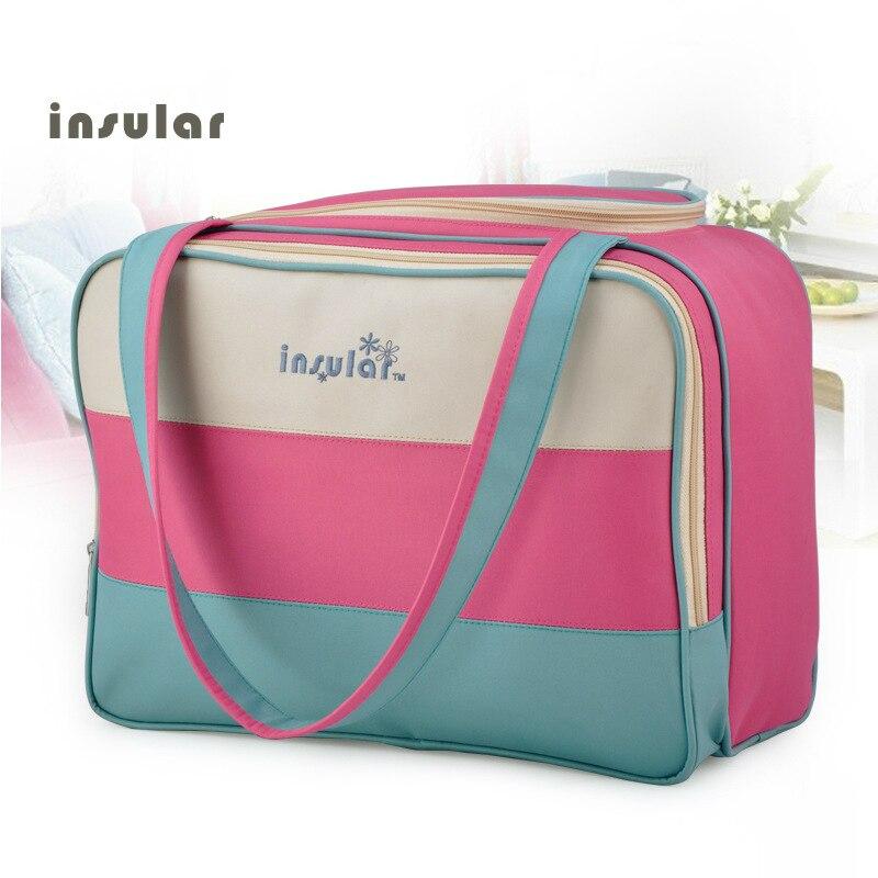 Moda mamá maternidad pañal enfermería almohadillas bolsa de viaje ...