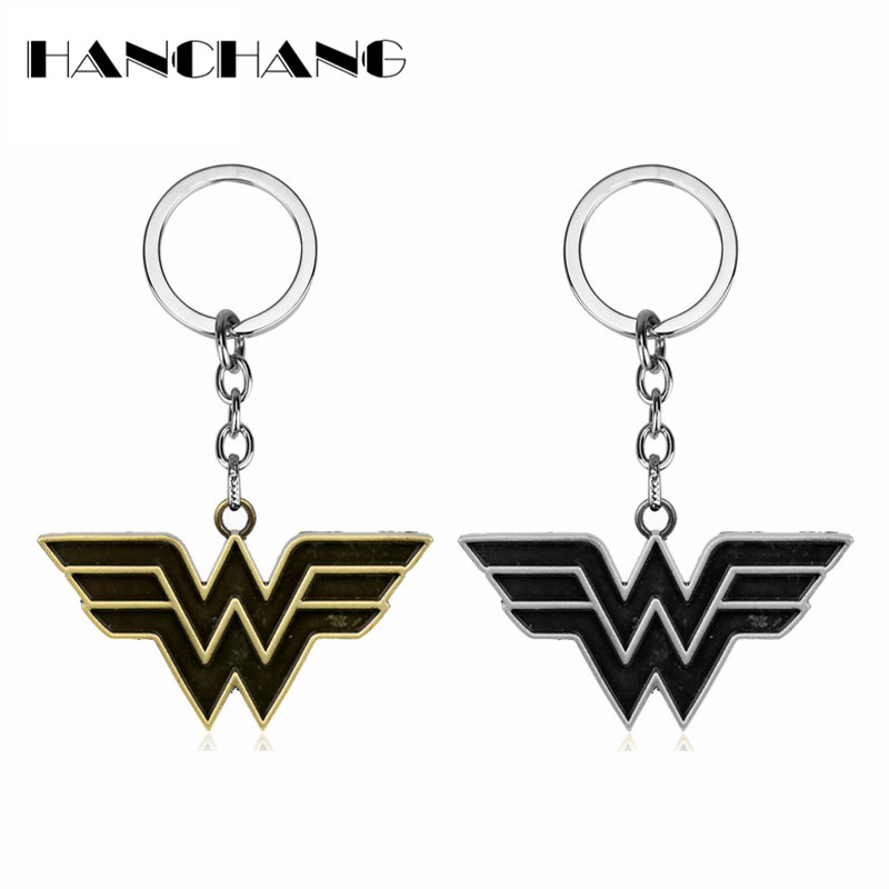 DC Comics Jewelry Wonder Woman Arms Shield keychain Car key Rings Key Chain Trinket