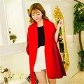 Зимний шарф женщины 2016 мода Пашмины Градиент цвета Сон Китайский Красный многоцелевой согреться Холодной бандана лошадь хиджаб шаль шарфы женские платок шарфы , платки , палантины шарф женский бандана