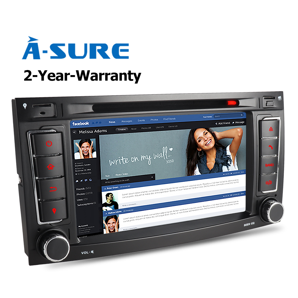 a sure car dvd player radio gps for volkswagen vw touareg. Black Bedroom Furniture Sets. Home Design Ideas