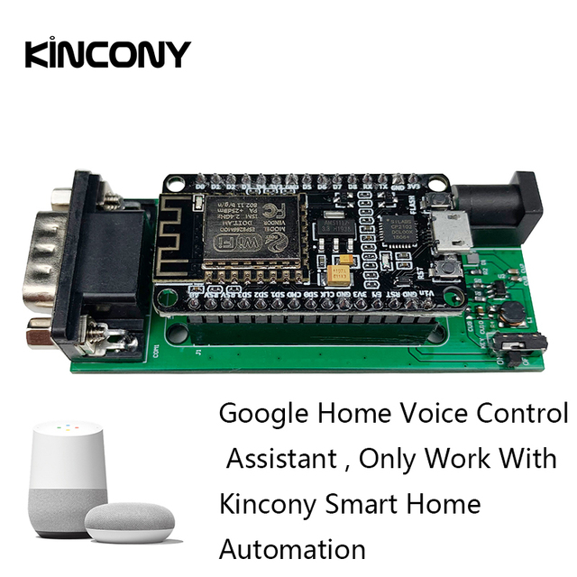 Kincony Google Home APP/Voice Control Assistant for KC868 Light Switch Smart Home Automation Module Controller System Domotica