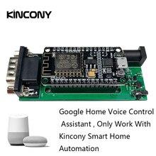 Kincony google casa app/assistente de controle voz para kc868 interruptor de luz inteligente módulo automação residencial sistema controlador domotica