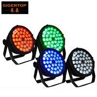 Хорошее качество 36x8 Вт silent плоским LED PAR света RGBW Цвет шайба Крытый IP20 рейтинг супер яркий 4/8 DMX каналы 288 Вт ce rohs