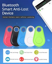Mini GPS Smart Wireless Bluetooth 4.0 Anti Lost Tracking Alarm Finder Device Auto Car Pets Key Kids Motorcycle Tracker Track(China)