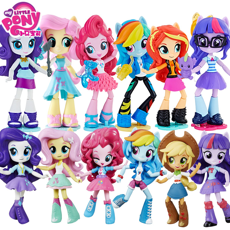 My Little Pony Model Dolls Celestia Joints move Rainbow Dash PVC Action Figure Anime One Piece Hot Toys For children Bonecas new hot 1pcs 18cm one piece anime black leg sanji pvc action figure toys children s gifts