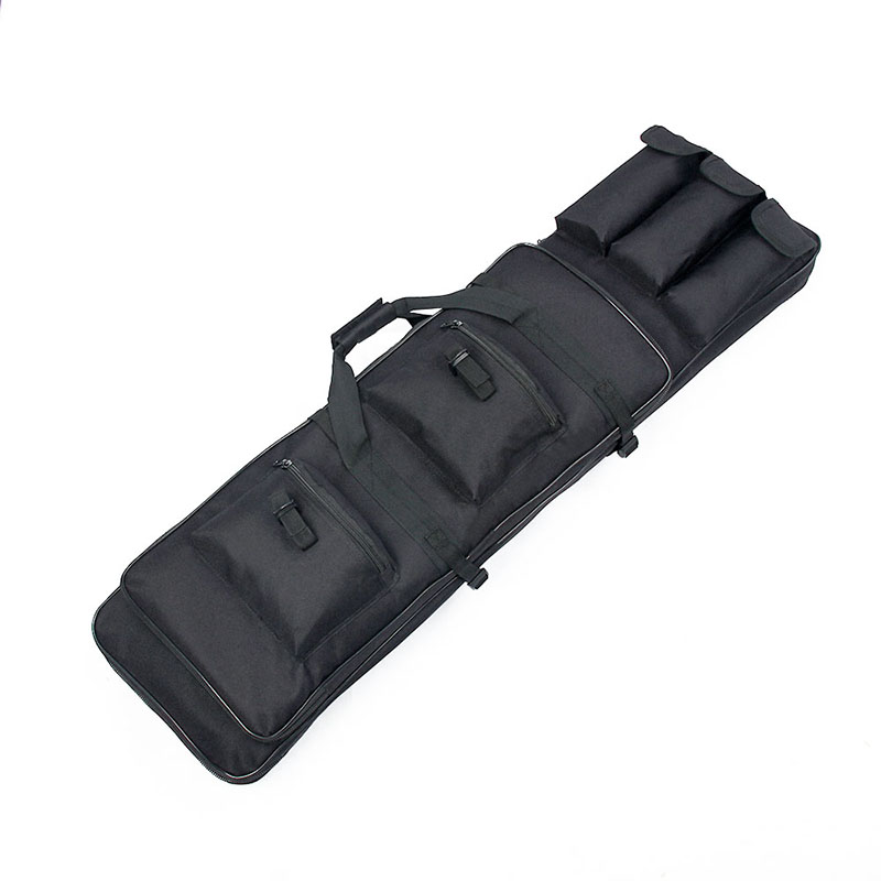 Free Shipping 100CM / 39.37in 600D Oxford Waterproof Fabric Military Airsoft Gun Bag Rifle Bag Case Black Color PPT12-0014 astraea electric bass bag 600d nylon oxford 10mm thick sponge soft case 125cm free shipping