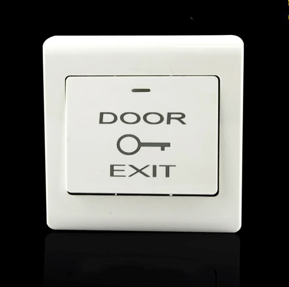 цена на high quality door exit button emergent switch push release for access system no signal Door access control switch