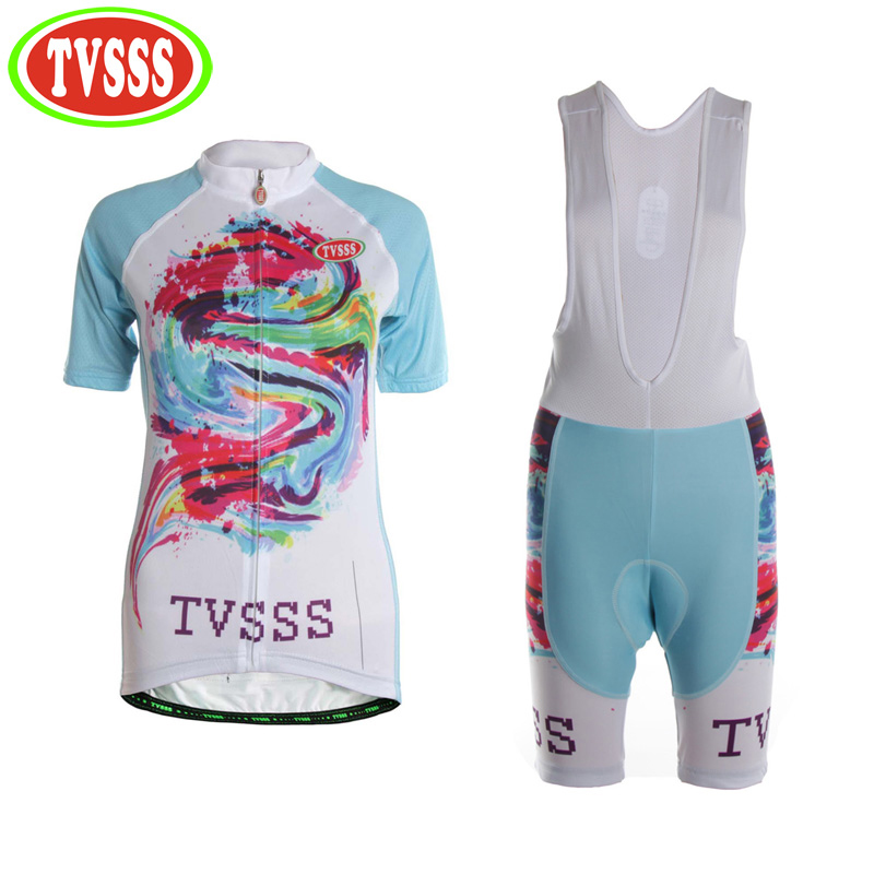 TVSSS 2017 Women's Summer MTB Cycling Jerseys Sets Breathable Mountain Bike Clothes Suit for Ladies Bicycle Clothing cycling clothing rushed mtb mavic 2017 bike jerseys men for graffiti cycling polyester breathable bicycle new multicolor s 6xl