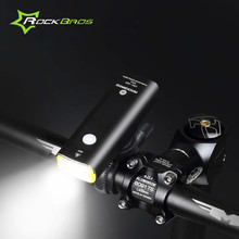 2017 ROCKBROS Bicycle Light Waterproof Rechargeable Cycling Flashlight Headlight Bike Light Front Bicycle Lamp Bike Accessories
