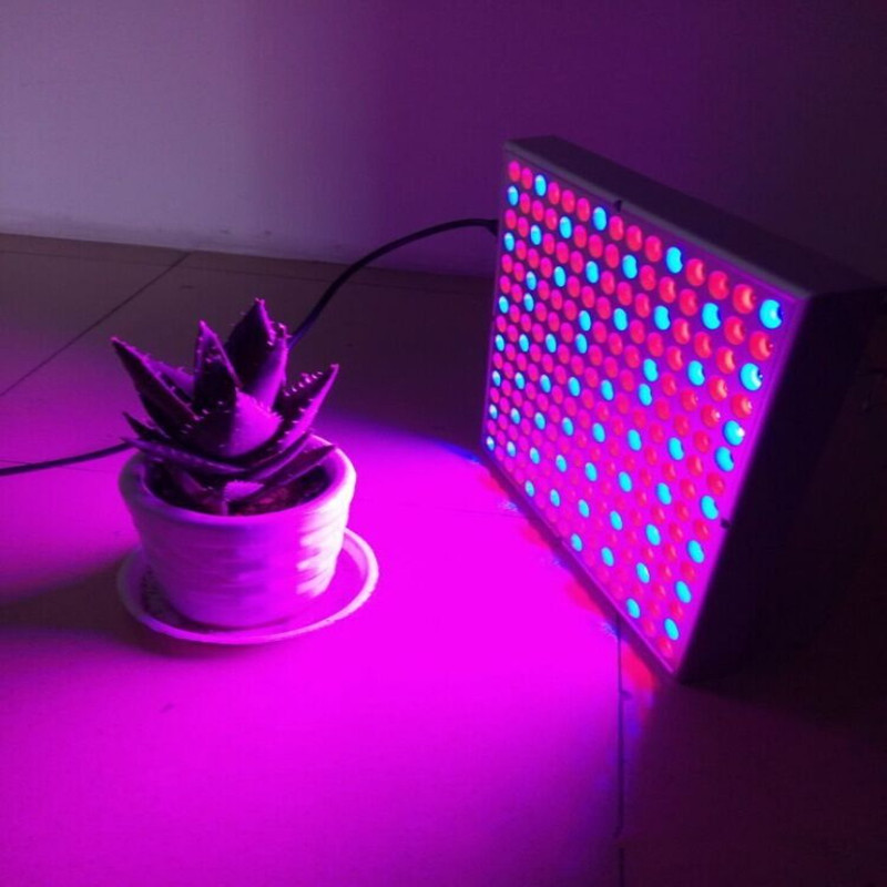 LED Plant Grow Light 45W 225 leds Full Spectrum plant growth lighting lamp Hydroponics system flower seeds Greenhouse High Yield