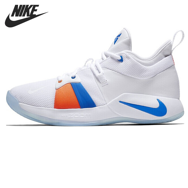 Original New Arrival 2018 NIKE PG 2 EP Men's Basketball Shoes Sneakers купить недорого в Москве