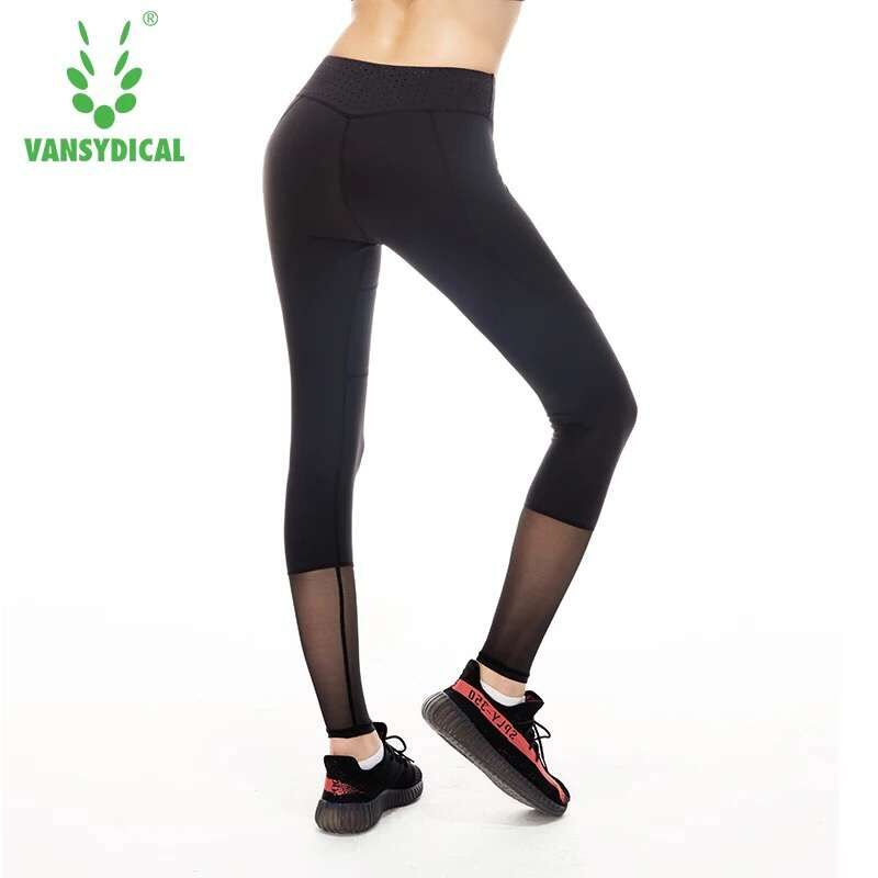Women Sport Running Pants Gym Tights for Female Fitness Leggings Quick Drying Trousers Women yoga Sport Trousers