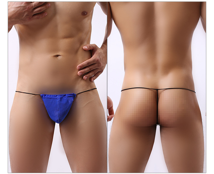 Sexy Men High Quality Lingerie G String Cotton Underwear Thong