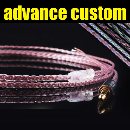 bilder für Tennmak angepasst abnehmbare kopfhörer kabel für TF10 5PRO/W4R UM3X/IE8 IE80 HD600/SR940/ER4P/K812/IM50