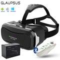 """VR Shinecon II 2.0 3D Виртуальной Реальности Очки Google Картон Голову Горе VR Очки для 4.7 ~ 6 """"экран + Bluetooth Геймпад 5.0"""