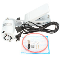 1.0 Amps White Aluminum alloy Sewing Machine Motor Foot Pedal Controller For Handwork Tools Accessories New 110V 110W