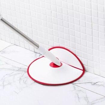 Xiaomi Yijie 4 шт. вращающаяся Швабра наборы гибкие и дизайнерские ручные напольные моющие водяные колеса система очистки для дома