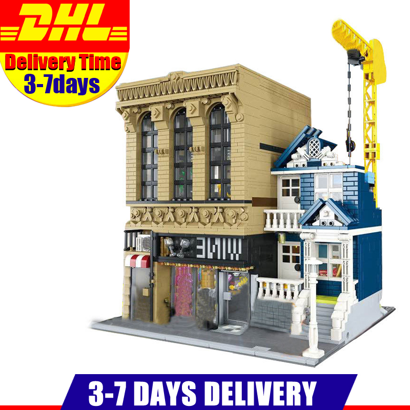 IN Stock Lepin 15035 2841Pcs  Creative Streetsight MOC Series The Bars and Financial Companies Set Building Blocks Bricks Toys oscar chiwira financial development and economic growth stock market perspective