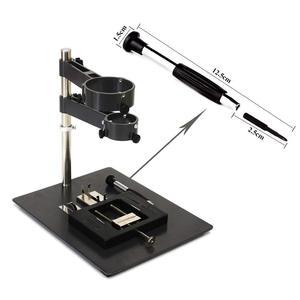 Image 3 - 熱風銃スタンド電気はんだリワークステーションドライヤーホルダーエアガンサポートラック溶接補助ジグツール