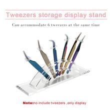 Tweezers Storage Holder Eyelash Extension Eyebrow Scissor Rack Display Stand Beauty Makeup Tools