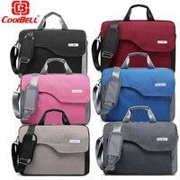 CoolBell 15 6 Unisex Nylon Laptop Bag Shoulder Bag Briefcase W Strap Messenger Hand Carrying Bag
