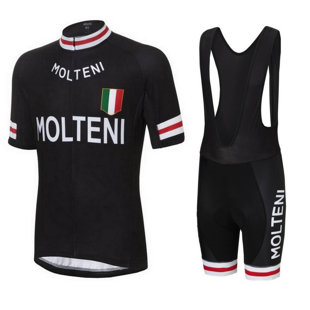 2018 Pro Molteni Team Cycling Jersey Ropa Ciclismo Quick-Dry Sports Jersey  conjuntos de verano 5ff9e7089