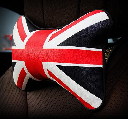 Custom Creative: Car Headrest Support Custom Creative Rice Flag Pp Cotton