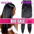 7A Ms Lula Hair With Closure And Bundles Straight Virgin Hair With Closure Brazilian Straight Hair With Closure,Mshere Hair